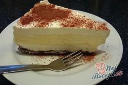 Příprava receptu Nepečený dort s vanilkovým krémem, krok 16