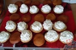 Příprava receptu Domácí koblihy s tvarohovým překvapením, krok 14