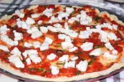 Příprava receptu Křupavá pizza z ovesných vloček bez droždí, krok 7
