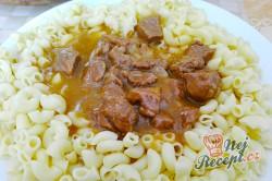 Příprava receptu Pivní guláš s těstovinami nebo s knedlíkem, krok 1