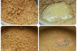 Příprava receptu Cheesecake {pečeně nepečený} s jahodami, krok 1