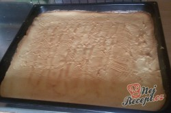 Příprava receptu Ořechově - tvarohový koláček našich babiček, krok 7