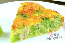 Příprava receptu FITNESS brokolicový dort bez mouky, krok 1