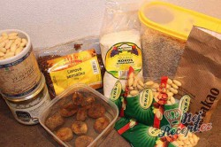 Příprava receptu Nepečené, zdravé Oreo sušenky bez cukru, krok 1