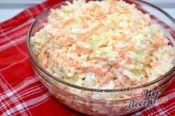 Příprava receptu Super chutný zelný salát s mrkví jako z restaurace, krok 7