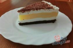 Příprava receptu Skvělý nepečený krémový dort, krok 1