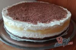 Příprava receptu Skvělý nepečený krémový dort, krok 2