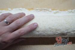 Příprava receptu Křehká kokosová roláda s mascarpone krémem, krok 8