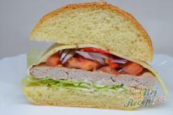 Příprava receptu Domácí hamburgery (nejlepší hamburgerové housky), krok 11