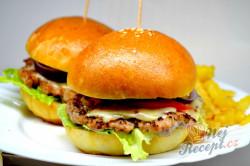 Příprava receptu Domácí hamburgery (nejlepší hamburgerové housky), krok 12