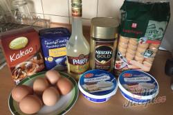 Příprava receptu Mé oblíbené TIRAMISU s amarettem, krok 1