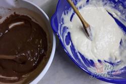 Příprava receptu Mramorový jogurtový koláček, krok 1