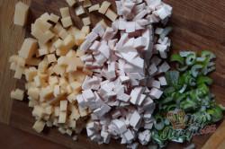 Příprava receptu Bramborové domácí krokety se sýrem a šunkou, krok 1