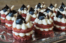 Příprava receptu Mini dortíčky Red velvet, krok 1