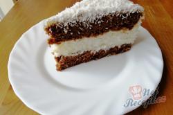 Příprava receptu Jednoduchý kokosový dort, krok 4
