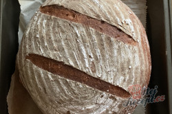 Příprava receptu Kváskový špaldový chléb, krok 4