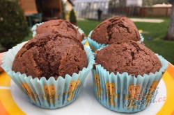 Příprava receptu Hrnkové čokoládové maffiny, krok 9