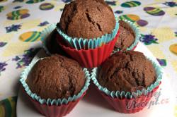 Příprava receptu Hrnkové čokoládové maffiny, krok 8