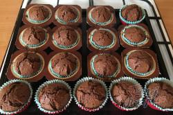 Příprava receptu Hrnkové čokoládové maffiny, krok 7