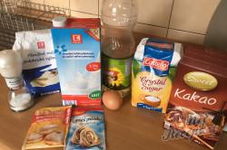 Příprava receptu Hrnkové čokoládové maffiny, krok 1