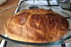 Příprava receptu Zázračný chlebíček bez hnětení, krok 8
