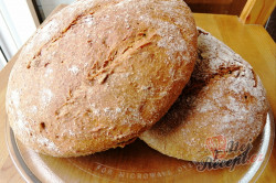Příprava receptu Rustikální chlebík, krok 1