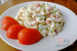 Příprava receptu Minutkový těstovinový salát s fantastickou zálivkou, krok 1
