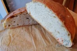 Příprava receptu Hop šup chlebíček bez práce, bez kynutí a s křupavou kůrkou, krok 1