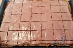 Příprava receptu Jablečný blesk s čokoládou a zakysanou smetanou, krok 2