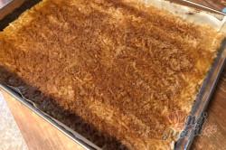 Příprava receptu Nejlepší jablečný koláč s kokosovou pěnou, který se rozplývá na jazyku, krok 8