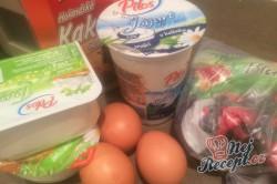 Příprava receptu FITNESS tvarohový dort bez mouky a cukru, krok 1