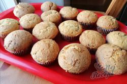 Příprava receptu Výborná rychlovka z hrnečku - tvarohové muffiny s povidly, krok 1