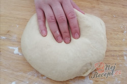 Příprava receptu Máslový šneci na celý plech pouze z 1 vajíčka, krok 4