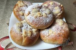 Příprava receptu Měkkoučké moravské koláče jako od babičky (těsto ze šlehačkové smetany), krok 20