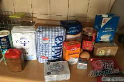 Příprava receptu Měkkoučké moravské koláče jako od babičky (těsto ze šlehačkové smetany), krok 1