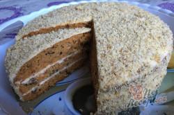 Příprava receptu Mrkvový dort ZAJÍČEK, krok 22