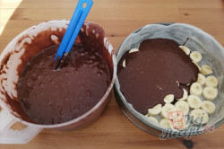 Příprava receptu Bleskový banánový dort - potěšení pro opičku, krok 10