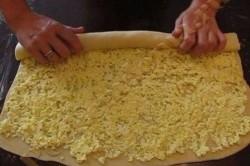 Příprava receptu Šneci z kynutého těsta, krok 1