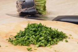Příprava receptu Domácí sýr s bylinkami, krok 2