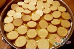 Příprava receptu Nepečený broskvový dort, krok 13