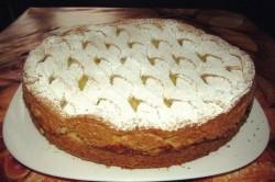Příprava receptu Jablečný koláč s vanilkovým pudinkem, krok 1