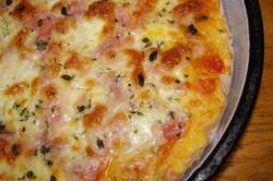 Příprava receptu Rychlá pizza z bílého jogurtu, krok 1