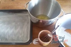 Příprava receptu Banánové řezy alá pribináček, krok 1
