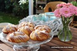 Příprava receptu Sladké věnečky z kynutého těsta, krok 9