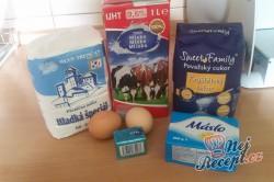 Příprava receptu Sladké snídaňové rohlíky, krok 1
