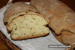 Příprava receptu Domácí celozrnné bagety bez kvásku nebo droždí, krok 2