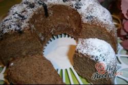 Příprava receptu Jablečno - perníková bábovka, krok 11