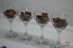Příprava receptu Míša pohár s malinami, krok 4