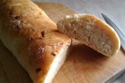 Příprava receptu Křupavé cibulové bagety, krok 2
