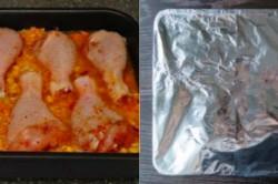 Příprava receptu ,,Líná,, kuřecí stehna z jednoho pekáče, krok 4